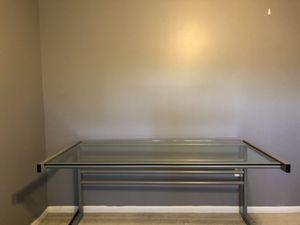 Glass office desk for Sale in Woodbridge, VA