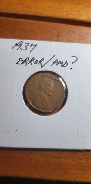 1940 P Lincoln penny with Clipped Planchet for Sale in Coolidge, AZ
