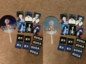 Kpop BTS suga yoongi fans PCs stickers fansite merch for Sale in Silver Spring, MD