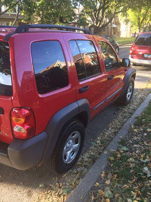 Jeep 2003 liberty sport V6 3.7 L one owner low miles for Sale in Chicago, IL