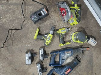 Ryobi Tools And Old Batteries for Sale in Vancouver,  WA