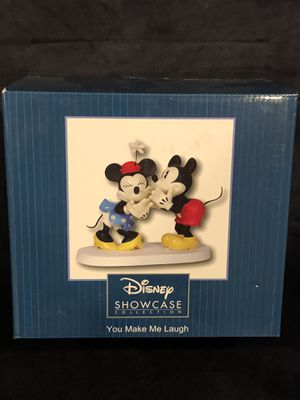 New Disney Precious Moments Large Mickey & Minnie Mouse 151702 for Sale in San Jacinto, CA