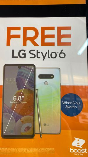 LG Stylo 6 FREE for Sale in Pine Hills, FL