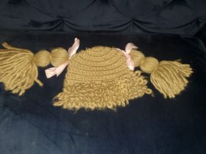 Cabbage patch style knit cap for costumes for Sale in Columbus, OH