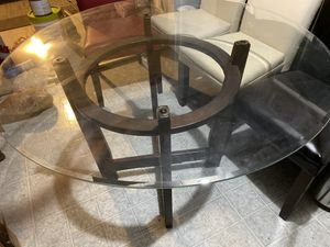 Glass dining table for Sale in Hawthorne, NJ