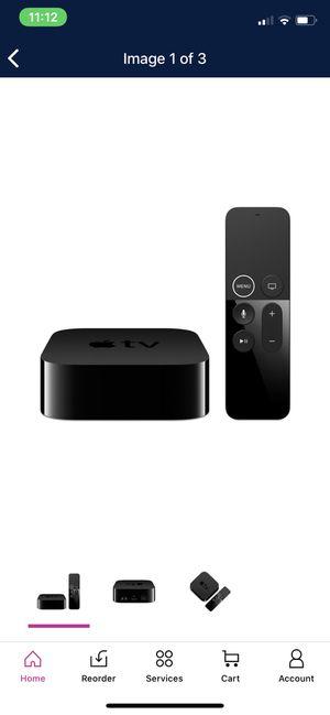 Apple TV 5th Generation 4K 32GB HD Media Streamer (MQD22LL/A) for Sale in Phoenix, AZ