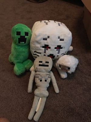 Minecraft Plushies for Sale in Forney, TX