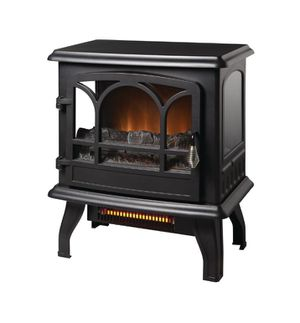 Kingham 1,000 sq. ft. Panoramic Infrared Electric Stove in Black with Electronic Thermostat - Space Heater for Sale in Saint Petersburg, FL