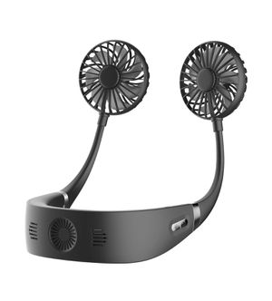 Personal Fan Portable Air Conditioner Neck Fan, 3 Level Hands Free Mini USB Rechargeable Wearable Lazy Neckband Super Quiet for Sale in Rancho Cucamonga, CA