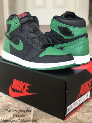 "Air Jordan ""Pine Green"" 1's-Size 8 for Sale in Greensboro, NC"