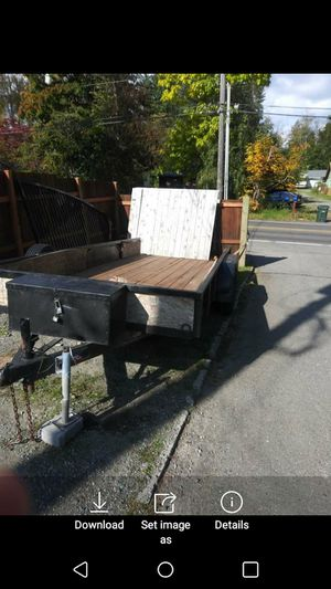 Car/utility trailer for Sale in Puyallup, WA