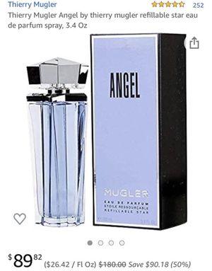 Thierry Mugler Angel by thierry mugler refillable star eau de parfum spray, Designer Perfume Fragrance 3.4 Oz for Sale in Clovis, CA