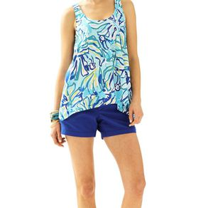 Lilly Pulitzer Monterey Tank Pool Blue Stay Cool for Sale in Alexandria, VA