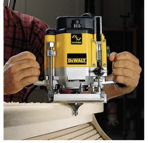 DeWALT DW625 3HP Variable Speed Plunge Router Woodworking Tool for Sale in River Vale, NJ