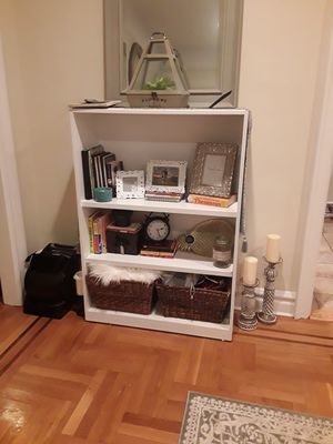 White bookcase for Sale in Hempstead, NY