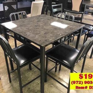 Dining table with chairs brand new in the box 📦 for Sale in Garland, TX
