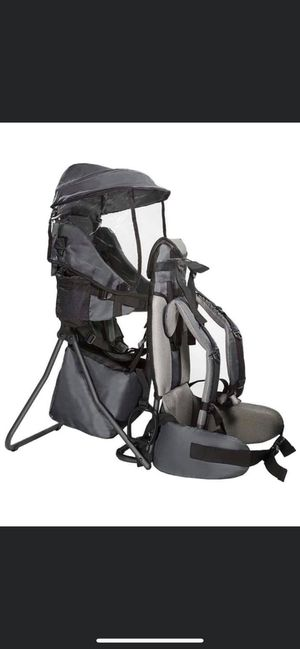 Clevr Premium Cross Country Baby Backpack Hiking Child Carrier with Stand for Sale in Fontana, CA