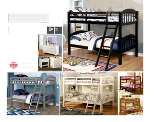 0 Down Available Payment Plans, OAC. Twin/Twin Bunk Beds with 2 Mattress and Bunkie Boards Included at House2home Furniture and Mattress for Sale in La Mesa, CA