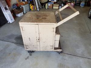 Rolling pit box - tool box for Sale in Etna, OH