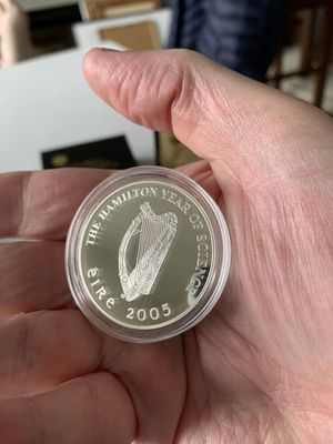 Ireland silver 10 Euro Proof coin for Sale in Quincy, MA