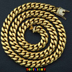Miami Solid Cuban Chain 18K Gold 15mm for Sale in Washington, DC