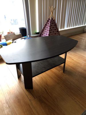 dark wood coffee table for Sale in Denver, CO