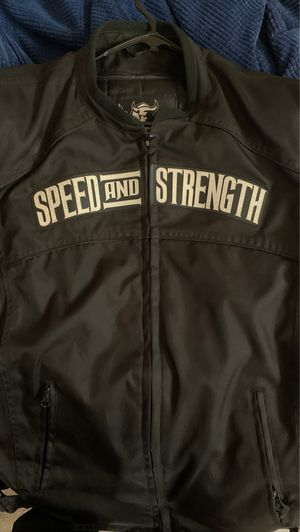 Speed and strength XL motorcycle jacket for Sale in Matteson, IL