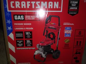 CRAFTSMAN GAS PRESSURE WASHER for Sale in Federal Way, WA