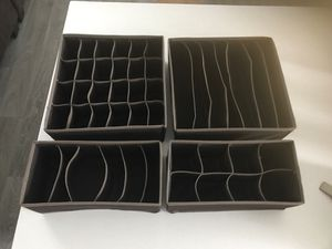 Closet Drawer Dividers/ Organizers for Sale in Temecula, CA
