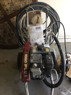 Paint sprayer (gas and electric) for Sale in Avondale, AZ