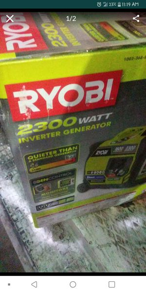 2300 watt Ryobi generator for Sale in Columbus, OH