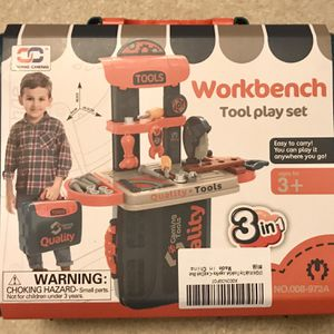 Kids Tool Workbench Toy for Sale in Plano, TX
