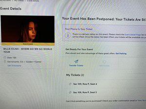 concert tickets for Sale in Rancho Cordova, CA