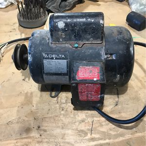 Delta 1 1/2 Hp 115v 3450 rpm Motor : Just $50 for Sale in Rancho Cucamonga, CA