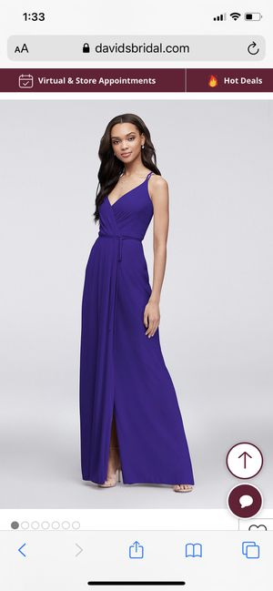 NEW long gown-size 4 for Sale in Washington, DC