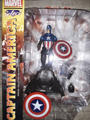 Marvel Select Captain America Action Figure Brand New in Box for Sale in Saint Charles, MO