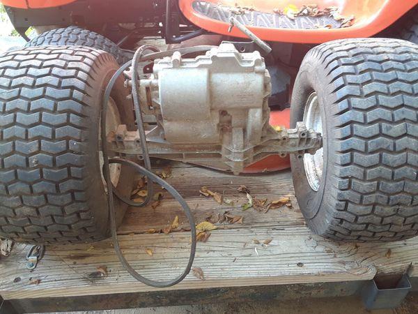 Tecumseh 6 speed hydrostatic w/reverse