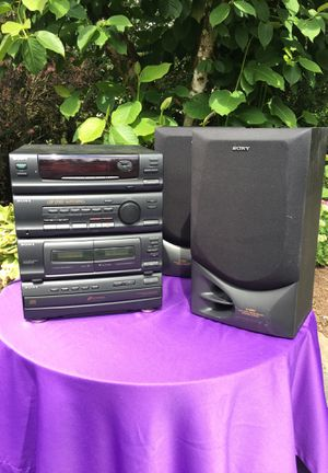 Sony stereo set for Sale in Snohomish, WA