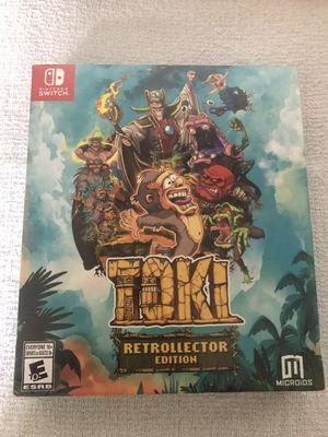Nintendo Switch TOKI Retrollector Edition for Sale in San Jose, CA