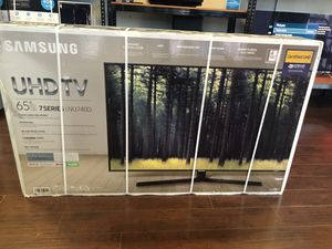 Samsung 65 inch 4K tv un65nu6900 for Sale in Altadena, CA