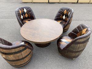 Vintage Kentucky barrel dining table for Sale in Denver, CO