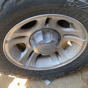 Ford Ranger Set Of Wheels With Off Road Tire for Sale in Fontana, CA