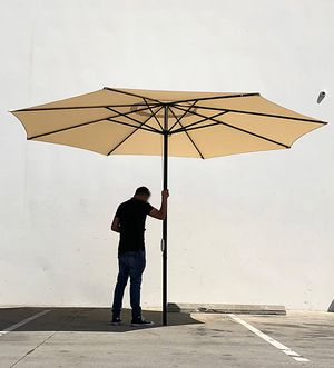 Brand new $55 each Outdoor 13' ft Patio Umbrella Sun Shades Market Garden Deck for Sale in Pico Rivera, CA