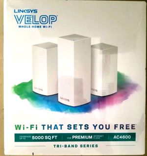 Linksys AC4600 Smart Mesh WiFi Wi-Fi Router 5000 Sq ft Intelligent for Sale in Hollywood, FL