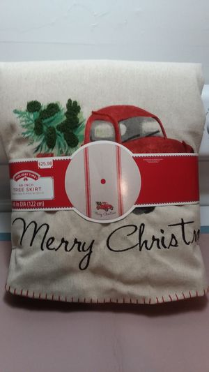 Christmas tree skirt for Sale in Farmville, VA