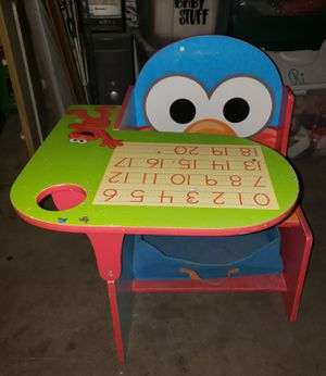 Kids Sesame Street desk chair for Sale in San Bernardino, CA