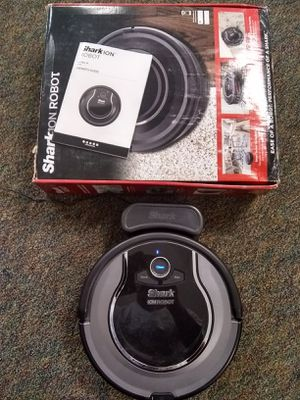 Shark ION ROBOT 750 Connected Robotic Vacuum Cleaner (Used) for Sale in Spartanburg, SC