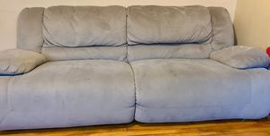 Sofa and love seat electric recliner on both from Ashley furniture for Sale in St. Louis, MO