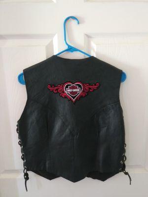 Harley Davidson/Vance Leather Black Motorcycle Vest for Sale in Houston, TX