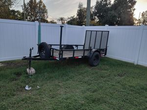 5x10 utility trailer for Sale in St. Cloud, FL